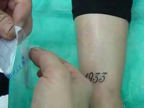 03 Cuidado Tatuaje Aposito Curativo 2015 Youtube