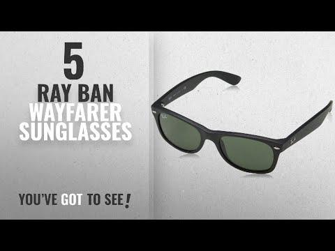 top-10-ray-ban-wayfarer-sunglasses-[-winter-2018-]:-ray-ban-rb2132-new-wayfarer-sunglasses,-black
