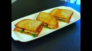 Grilled Tofu Sandwich Recipe | Healthy & Tasty Indian Breakfast Recipe | Tofu Recipes | Veg Sandwich
