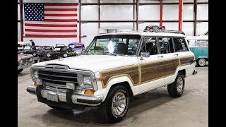 1984 Jeep Grand Wagoneer White