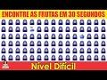 Gambar cover ENCONTRE O EMOJI EM 30 SEGUNDOS - NÍVEL MÉDIO E DIFÍCIL  IncrivelMente Curiosa