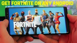 Comment installer la bêta Android Fortnite (fr) Obtenez FORTNITE MOBILE BETA SUR N'importe quel ANDROID