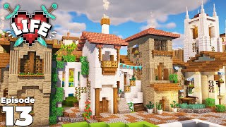 X Life : Ep 13 : BRAND NEW Village Build : Minecraft Survival Let's Play
