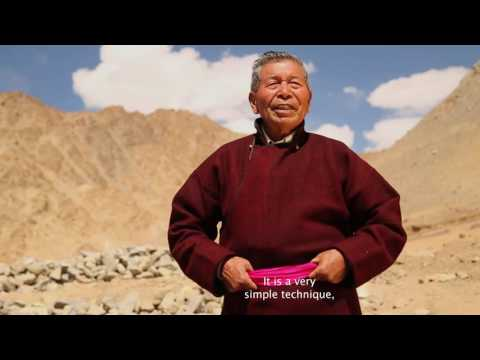 Meet the Ice Man of ladakh who has Created 12 artificial glaciers