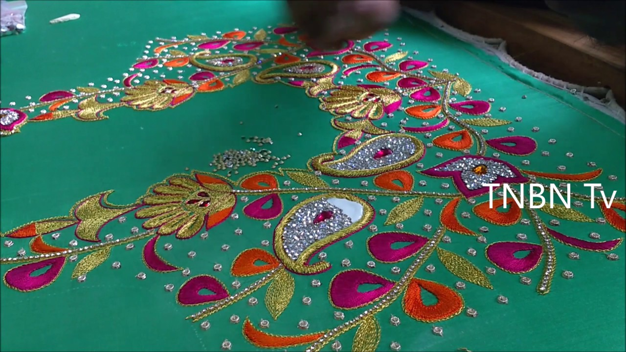 Hand Work Embroidery Designs Sindhi