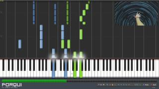 Sword Art Online Opening 1 - Crossing Field (Piano Synthesia)