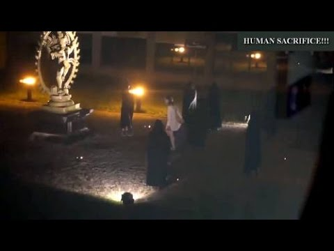 WARNING!!! Actual HUMAN SACRIFICE RITUAL at CERN??????????????