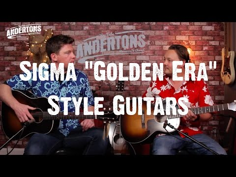 Acoustic Paradiso - Sigma Guitars From The Golden Era.