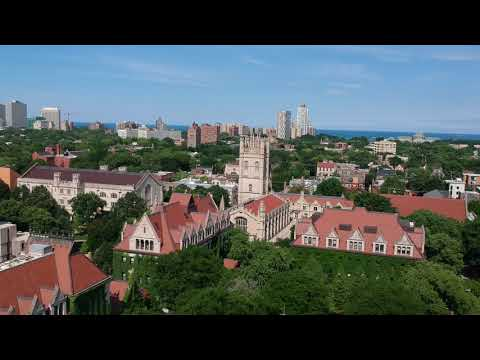University of Chicago Campus Drone Footage