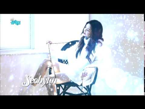 151128 TTS   Comeback Stage 'Dear Santa' on Music Core Next Week Background Music  Whisper