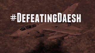RAF Tornado strike on ISIL position in Sinjar 5 November 2015