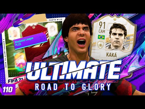 DID PRIME KAKA SAVE OUR FUT CHAMPS?!? ULTIMATE RTG #110 FIFA 21 Ultimate Team Road to Glory