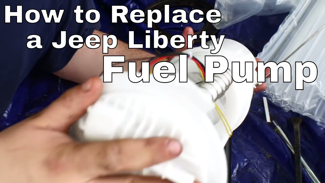 Jeep Liberty Fuel Pump Replacement Youtube 2014 Compass Fuse Box Diagram