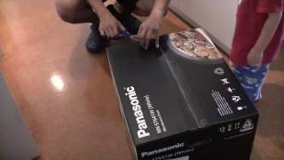 Panasonic Microwave NN-ST641W Unboxing