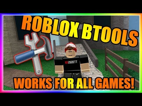 BTOOLS HACK | 😲 WORKS FOR ALL GAMES! | UNPATCHABLE ROBLOX EXPLOIT!