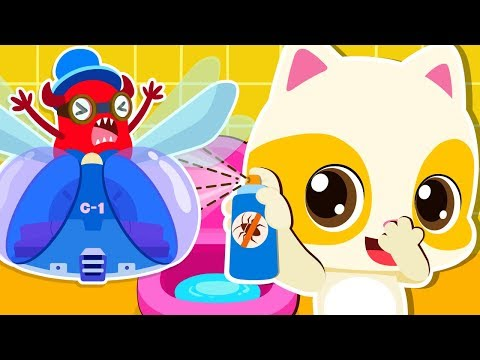 Los Gérmenes Viajan en La Mosca | Canciones Infantiles | Hábitos Saludables | BabyBus Español