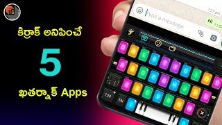 Top 5 Best Android Applications 2019   Latest Personalization And Gaming Applications   Tech Siva
