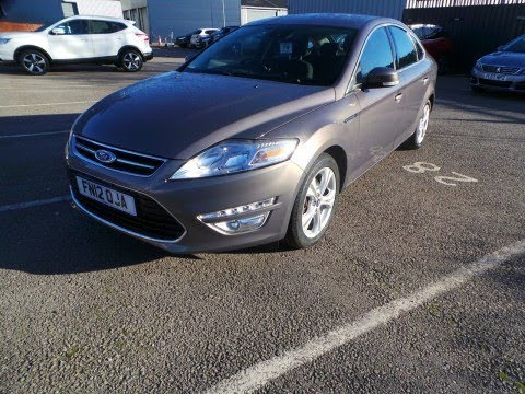 FN12OJA - Ford Mondeo 1.6 TDCI Eco Titanium 5dr In Brown