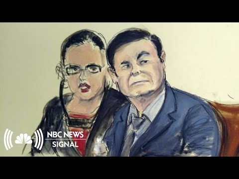 El Chapo On Trial: Paranoia, Plastic Surgery And The Media | NBC News Signal