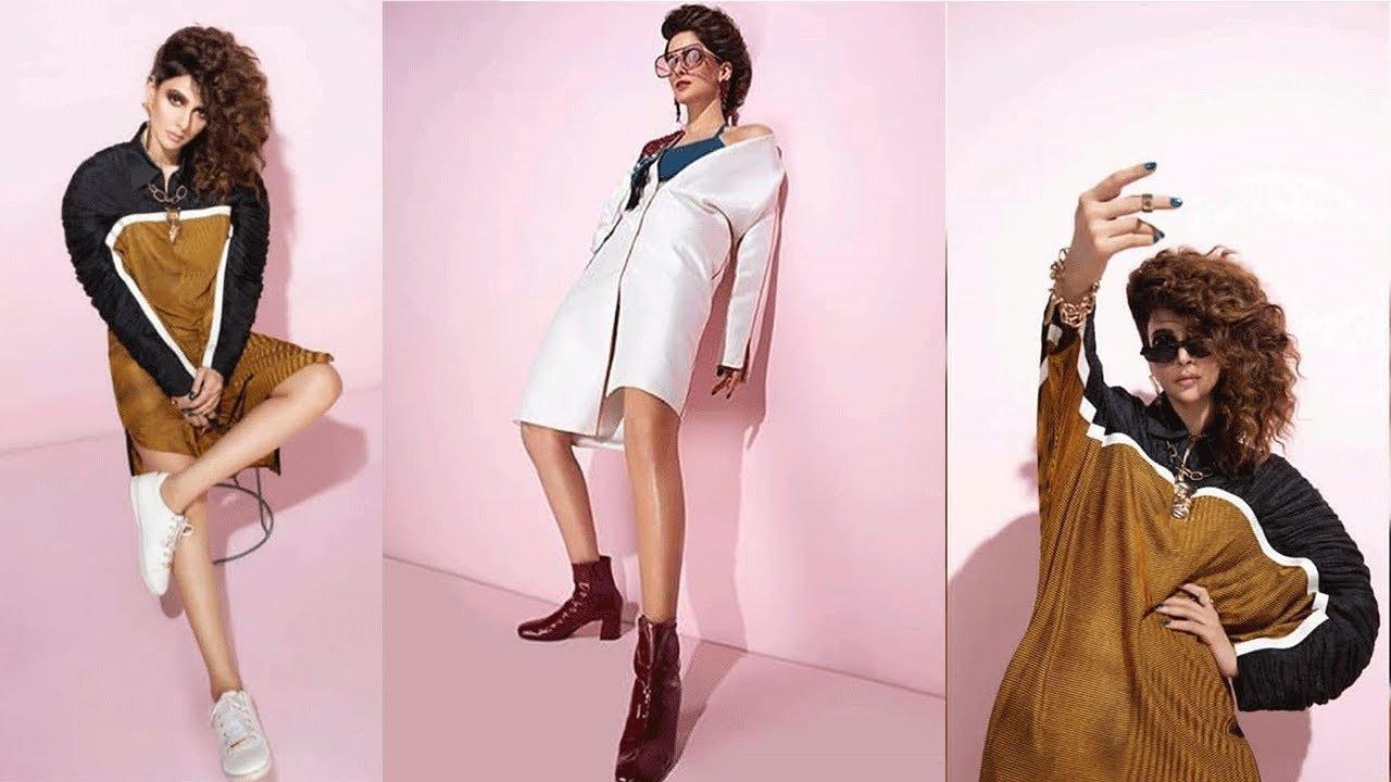 cfe14e22fc Bold and beautiful Saba Qamar in a recent shoot for Grazia magazine ...