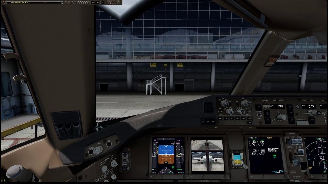 P3D   VATSIM   PMDG 777-300ER   Taiwan (RCTP) to Hong Kong (VHHH)   FULL  FLIGHT   With Friends
