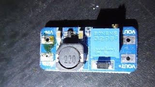 MT3608 Повышающий DC/DC преобразователь напряжения