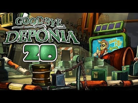 GOODBYE DEPONIA [HD+] #020 - SMUDO ist Cowboy Dodo ★ Let's Play Goodbye Deponia