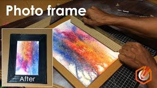{DIY} Cardboard Frames