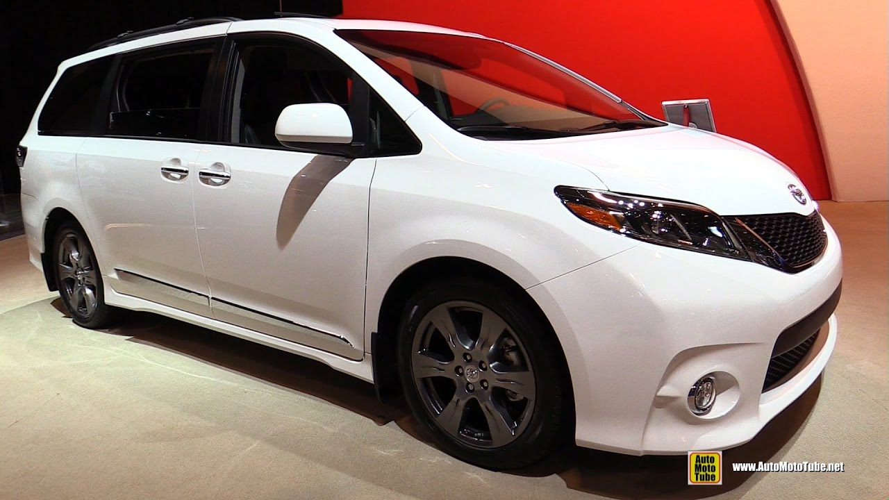 2017 toyota sienna exterior and interior walkaround 2017 toronto auto show youtube. Black Bedroom Furniture Sets. Home Design Ideas
