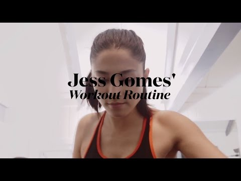 ELLE Fitness: Jessica Gomes' Go-To Workout Routine