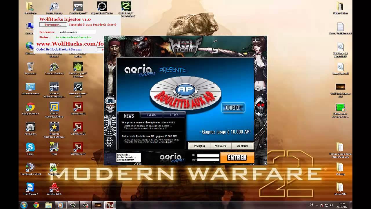 wolfteam hacks 2012 free