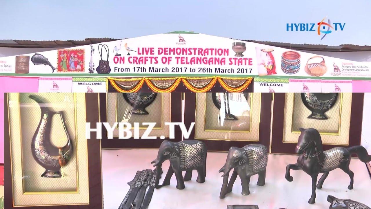 It Minister Ktr Launches Golkonda Craft Bazaar In Ntr Stadium
