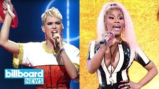Katy Perry & Nicki Minaj's Epic 'Swish Swish' Performance Close Out 2017 MTV VMAs | Billboard News