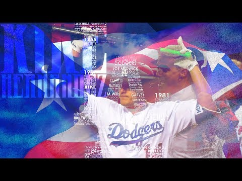 Kike Hernandez | 2017 Dodgers Highlights ᴴᴰ