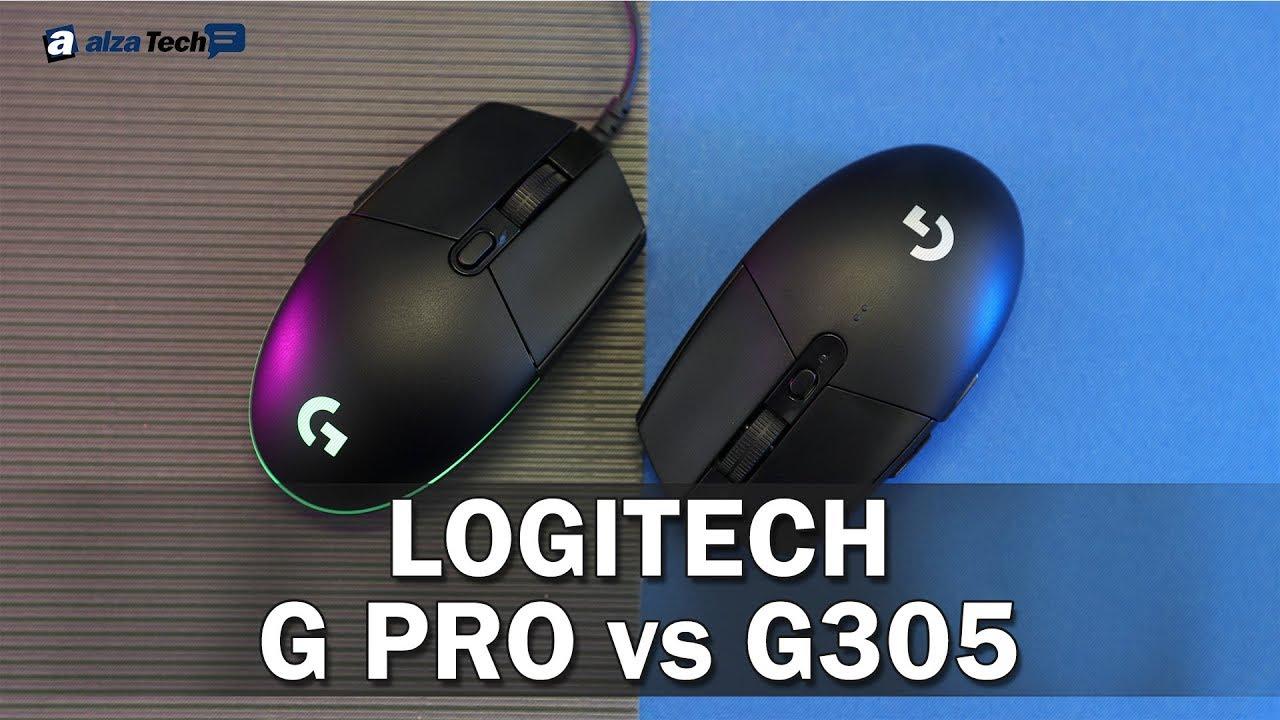 Logitech Recoil G305 vs  G Pro Gaming: Hrát drátově a nebo bezdrátově?  (SROVNÁVACÍ RECENZE #793)