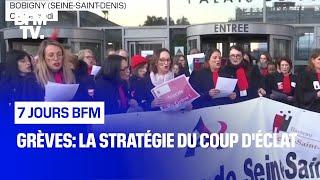 Grèves: la stratégie du coup d'éclat