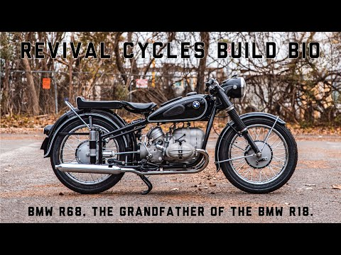 BMW R68 // Revival Cycles Build Bio