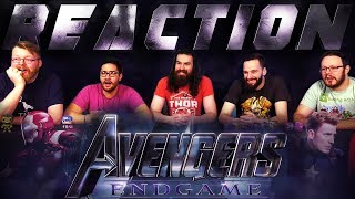 Marvel Studios' Avengers: Endgame - Big Game TV Spot REACTION!!