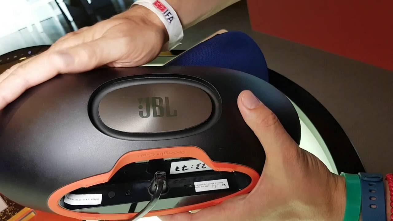 JBL Playlist 150 - Der Google Cast WLAN Lautsprecher im