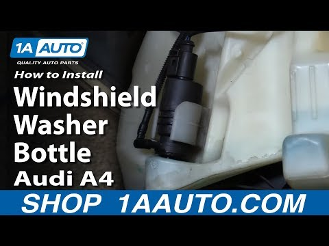 how to install replace leaking windshield washer fluid bottle 2000 06 chevy suburban tahoe gmc. Black Bedroom Furniture Sets. Home Design Ideas