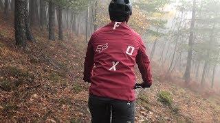 Fox Attack Fire Softshell Bike Jacket Mens