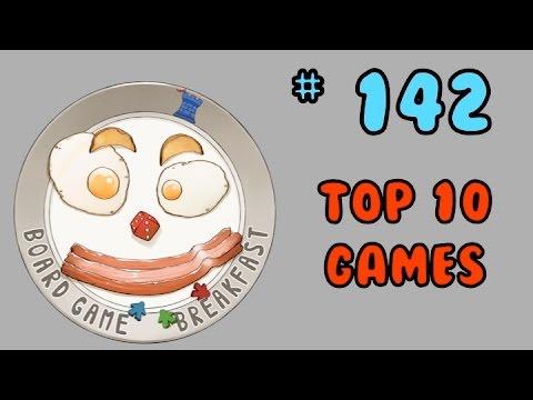 Board Game Breakfast 142 - Top 10 Games