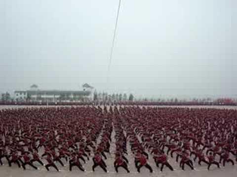 Beijing Olympics Opening Ceremony 2008 Tai chi Practise 2