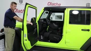 How to remove doors off Jeep Wrangler Tutorial