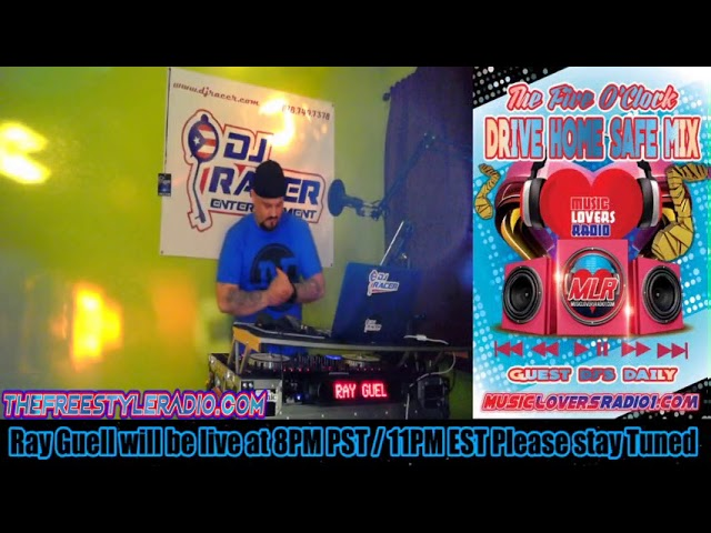 DJ RACER INTERVIEW WITH RAY GUELL - 02/21/2020
