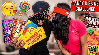 THE CANDY KISSING CHALLENGE!!! *GETS FREAKY*