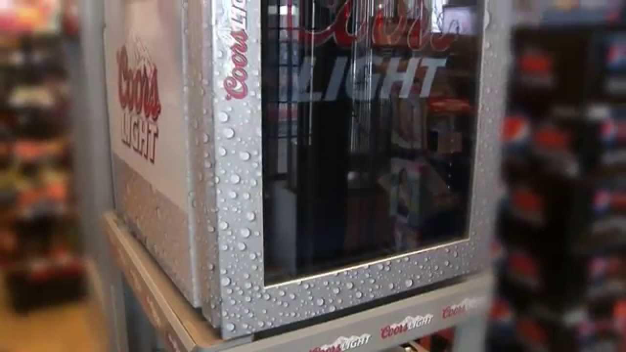 Transparent Lcd Display Fridge Cooler Door Coors