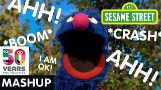 Sesame Street: Grover's Mishaps Mashup | #Sesame50