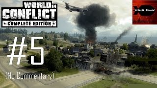 World in Conflict Complete Edition Campaign Playthrough Part 5 Battle for Pine Valley, No Commentary