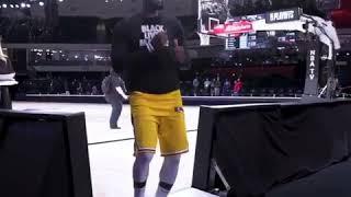 Lebron James dancing in NBA bubble